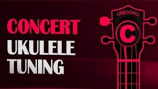Concert ukulele tuning - Online Ukulele Tuner