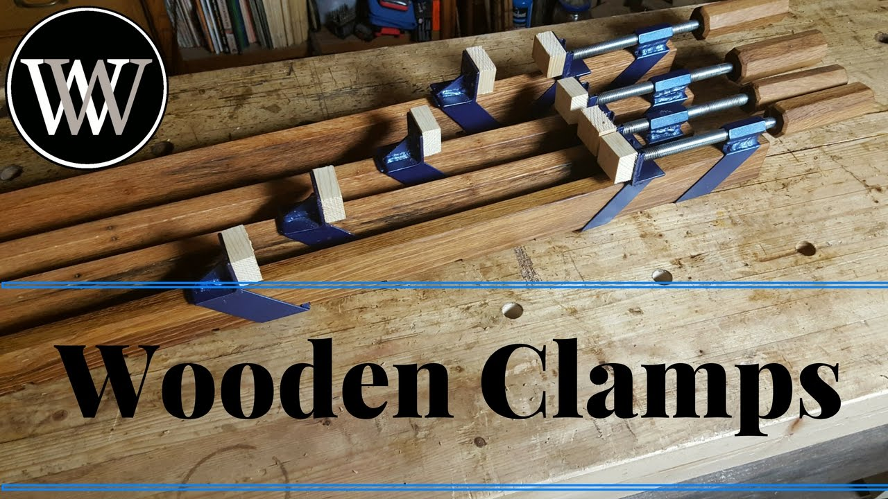 How To Make A Clamp Wooden Beam Or Pipe Clamps Build With Oak