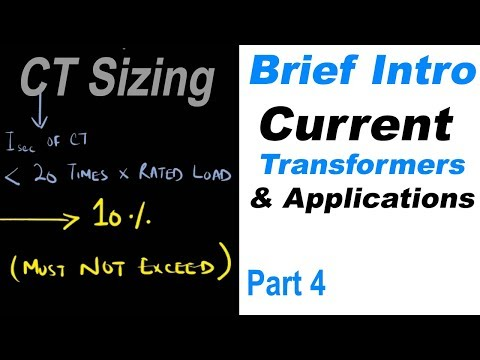 Brief Intro to Current Transformers and its Applications Part 4: CT Sizing