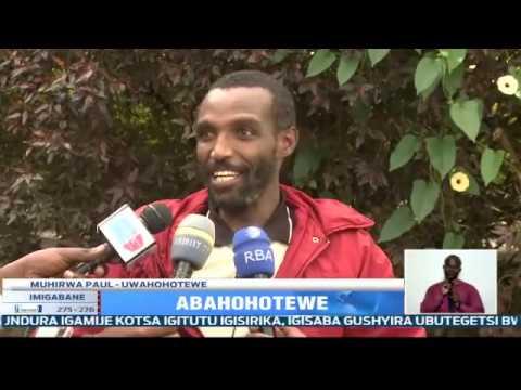 Polisi y' u Rwanda yerekanye abanyarwanda 2 bari bafungiwe Uganda