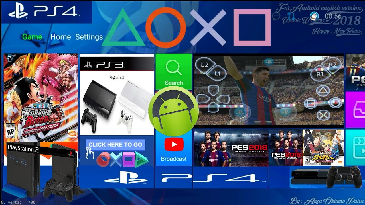 Tutorial cara main game PS4 di Android Tanpa PS4 & Tanpa ...