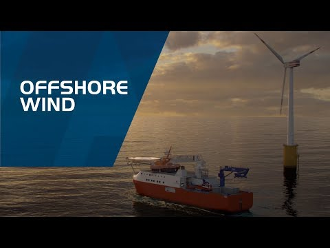 PALFINGER MARINE - Offshore Wind Animation
