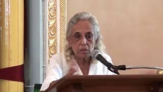 SAMARPAN # 27: JUNE 2017: Talk by Mrs Munira Banatwala