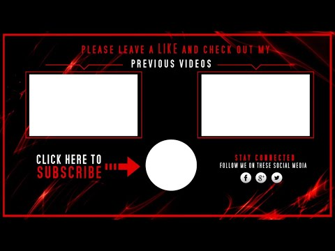 TOP 10 NEW OUTRO TEMPLATES ! #5 + FREE DOWNLOADS