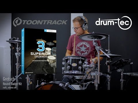 Toontrack Superior Drummer 3.0 Played With Drum-tec Electronic Drums