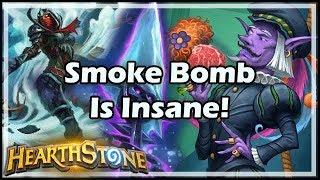 [Hearthstone] Smoke Bomb Is Insane!