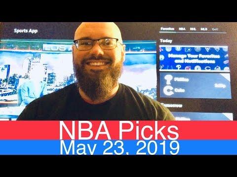 NBA Picks (5-23-19) | Eastern Conference Finals 2019 Basketball | Game 5 Raptors vs Milwaukee Bucks