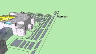 Airport Animation Project