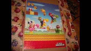 new super mario brothers time lapse project
