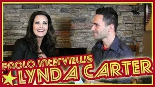 Lynda Carter Talks WONDER WOMAN & MORE!!!