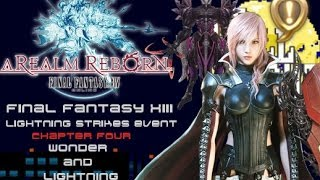 FINAL FANTASY XIV: A Realm Reborn - Lightning Strikes Event Gameplay 【Chapter 4】Wonder and Lightning