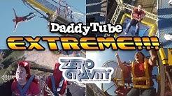 ZERO GRAVITY - ALL 5 Rides!!! Nothin' But Net, Skycoaster,  Bungee, Texas Blastoff & Skyscraper