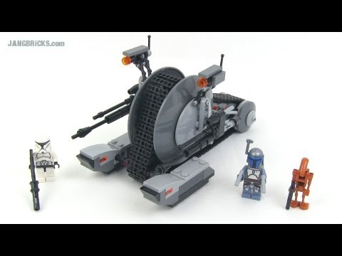 Lego star wars corporate alliance tank droid set review - Lego star wars vaisseau droide ...