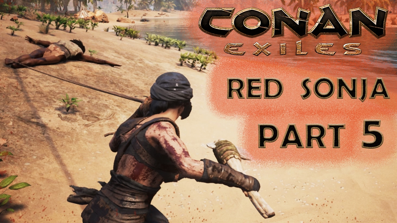 conan exiles gameplay part 5 crafting and slavery 0 7 multipliers difficulty youtube. Black Bedroom Furniture Sets. Home Design Ideas