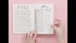 How to Start a Bullet Journal | Plan With Me