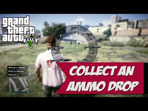 How to Collect an Ammo Drop GTA5  Daily Objective