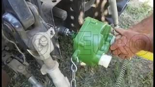 Pompa a trattore per irrigazione Ferroni MT 300, raccordi da 40, presa di forza