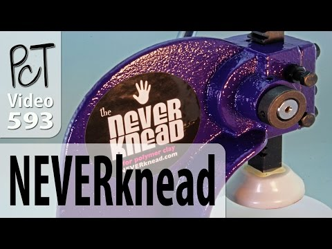 NEVERknead Tool Demo For Conditioning Polymer Clay
