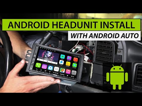 How to Install Android Car Stereo (ATOTO A6 PRO Car Radio) in Chevy or GMC Truck and SUV