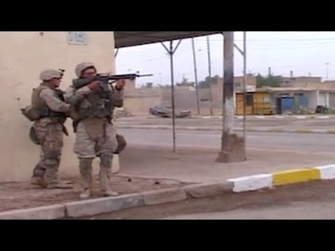 Insane Raw Footage Of Marines In Fallujah