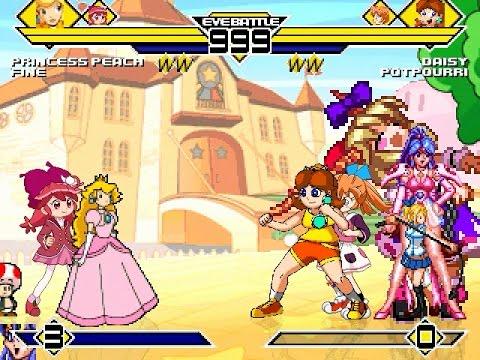 Download Team Peach vs Team Daisy 4v4 Patch MUGEN 1.0 Battle!!!