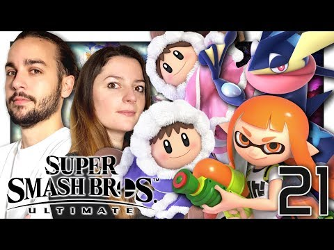 SUPER SMASH BROS ULTIMATE MODE CLASSIQUE CO-OP | AMPHINOBI, ICE CLIMBERS & INKLING !