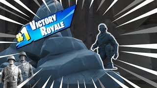 How to be a Rock in Fortnite - The Best Fortnite Tactic/Pay to Win Skin