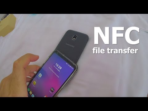 Photo Transfer Between 2 Android Phones Via NFC (Android Beam)