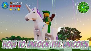 LEGO Worlds How To Unlock The Unicorn With Gameplay