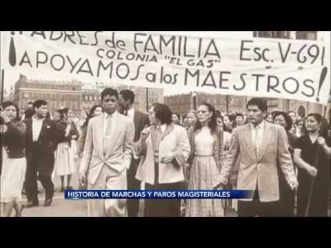 CNTE: Historia de Marchas y Paros Magisteriales