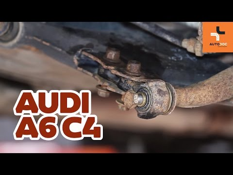 How To Replace Rear Lower Arm Bush Audi A6 | Tutorial HD