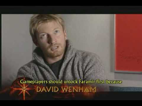 Lord of the Rings: Return of the King - David Wenham Interview