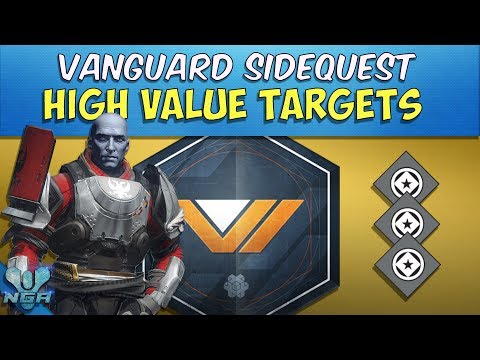 Desitiny- Complete - Gameplay - Walkthrough - High-Value Targets - Vanguard Side Quest - PS4