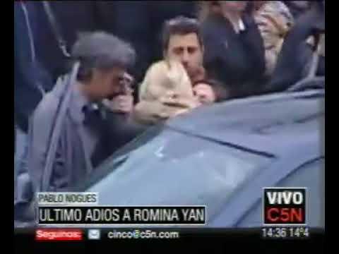 C5N ÚLTIMO ADIÓS A ROMINA YAN