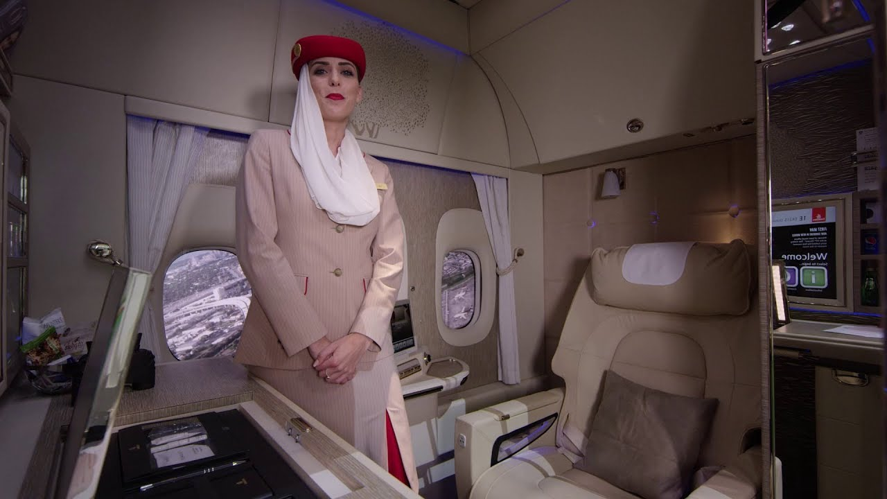 The Game-changing First Class suite   Boeing 777   Emirates Airline