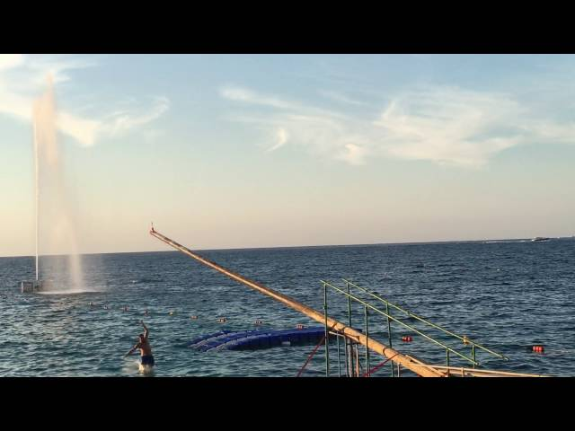 Malta: Grease pole game - 19th August 2016