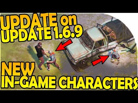 UPDATE on UPDATE 1.6.9 + NEW IN-GAME CHARACTERS INBOUND! - Last Day On Earth Survival 1.6.8 Update