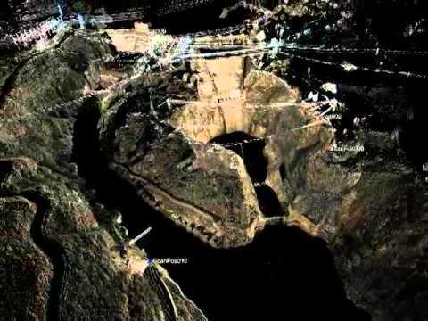 LiDAR - Rock Scour of a Spillway