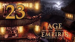 Прохождение Age of Empires: Definitive Edition #23 - Горный храм [Ямато: Империя восходящего солнца]