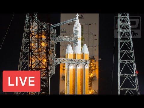 NASA LIVE: United Launch Alliance to Launch Delta IV Heavy Rocket #ParkerSolarProbe @2:31am EST