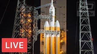 NASA LIVE: United Launch Alliance to Launch Delta IV Heavy Rocket #ParkerSolarProbe @2:31am EST thumbnail