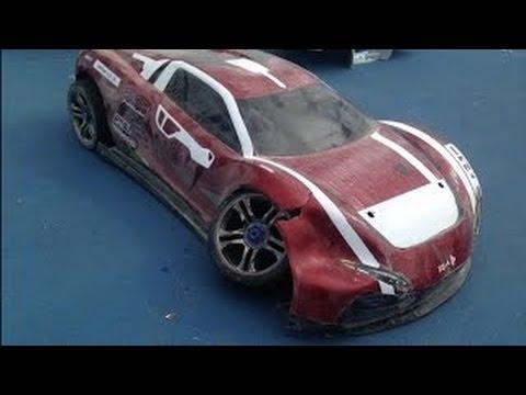 XO1 CRASH 100MPH RC Car COLOR LIGHTSTraxxas XO1 Speedruns