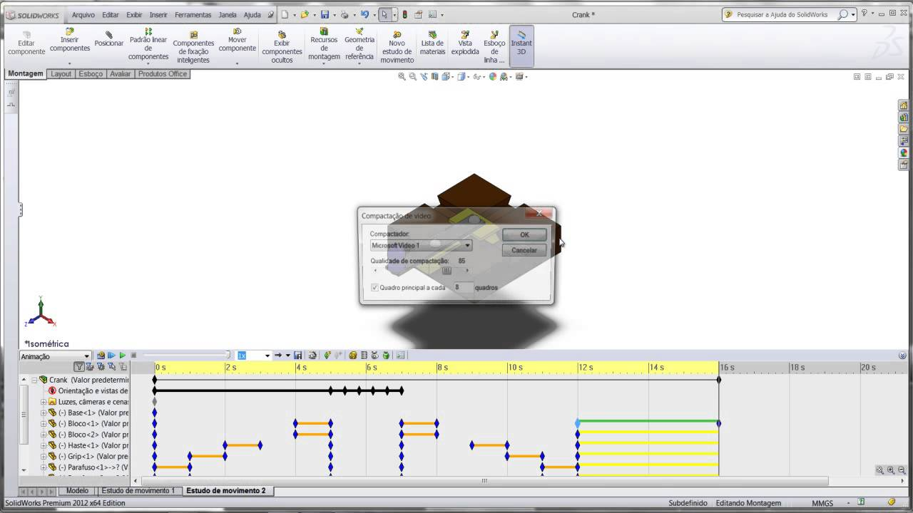 video aula solidworks