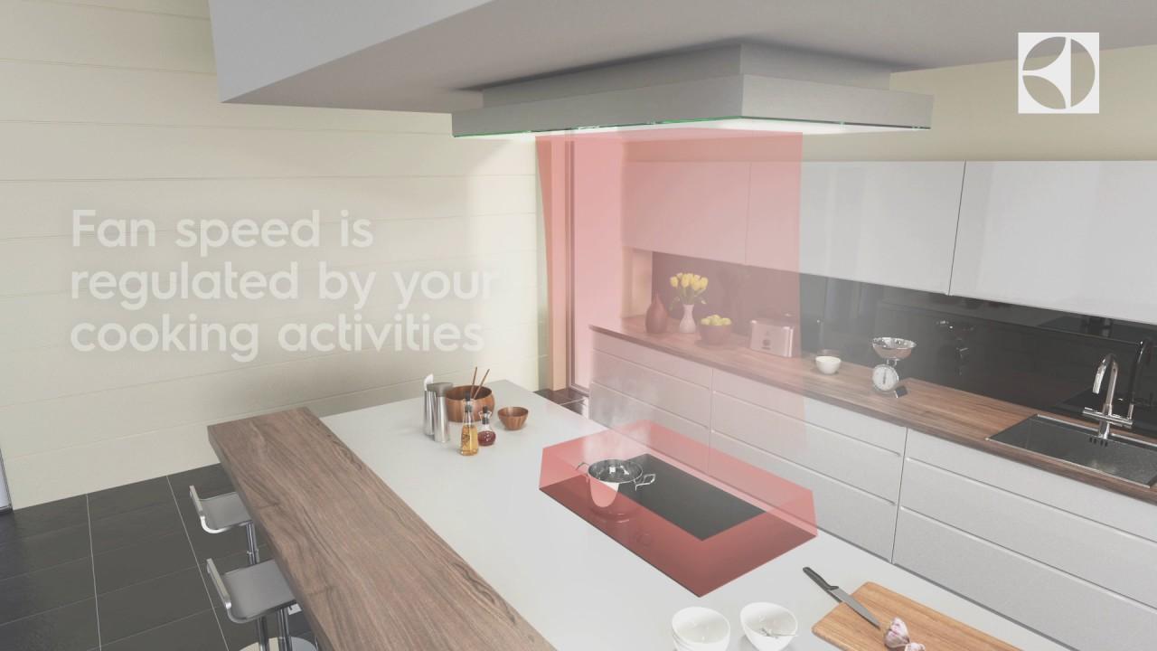 hob2hood connect ceiling electrolux hob cooker hood. Black Bedroom Furniture Sets. Home Design Ideas