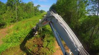 Video still for DML/HY Excavator Mulcher from FAE