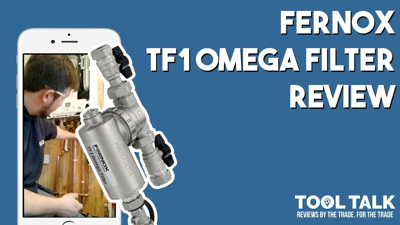 Fernox TF1 Omega Filter Review By DCB Plumbing & Heating - YouTube