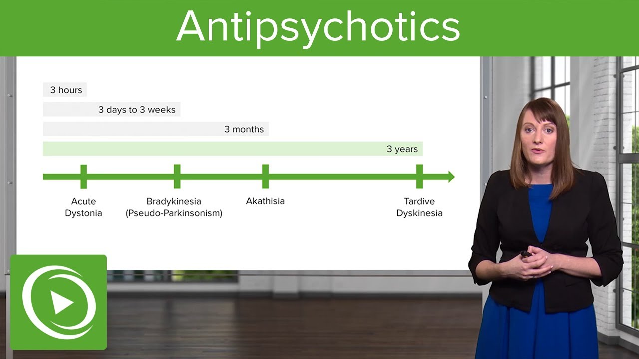 Antipsychotics: Classification and Side Effects  – Psychiatry | Lecturio