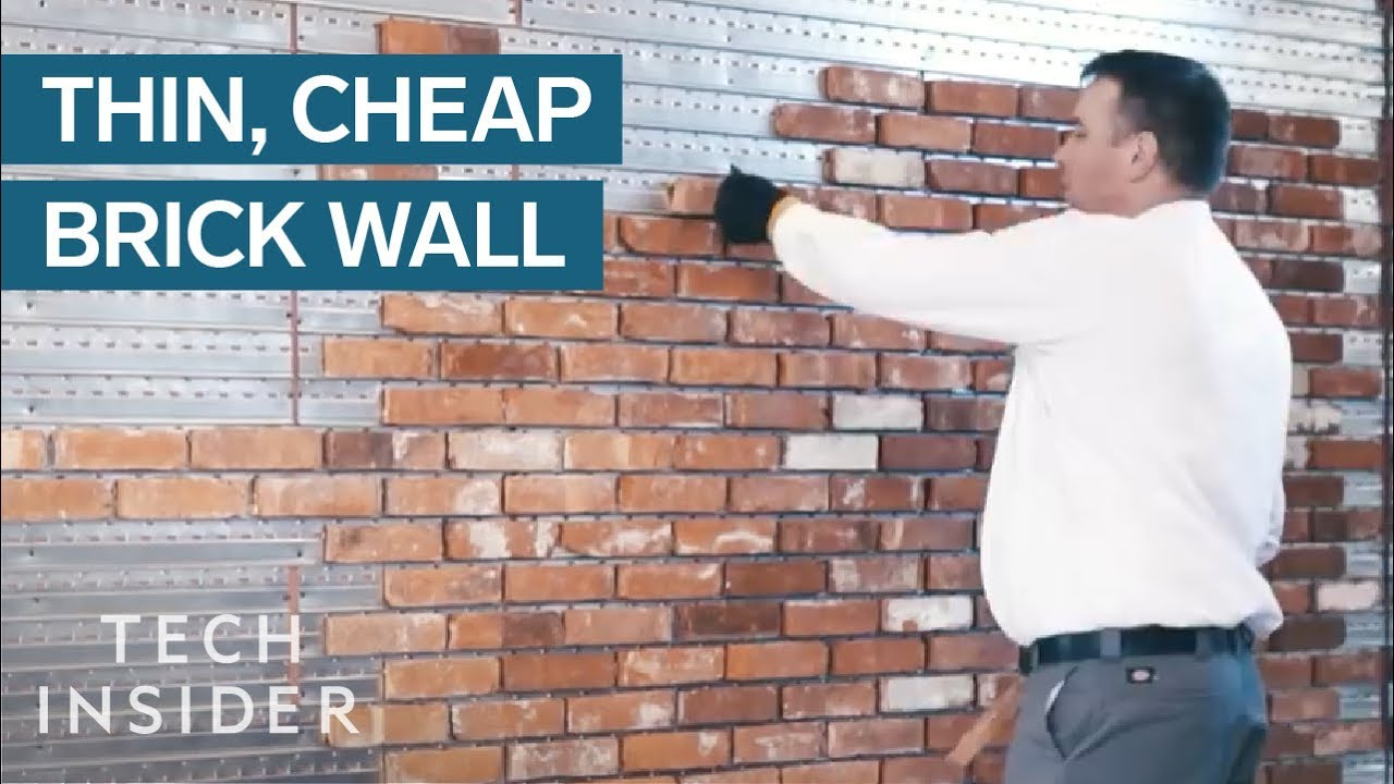 Adding Brick Wall Interior Thin Brick Wall Is Cheaper And Quicker To Install Than The Real Thing