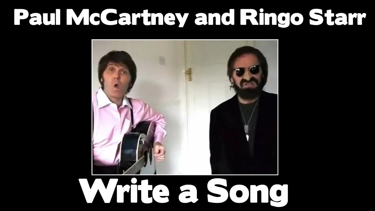 paul mccartney and ringo starr write a song youtube. Black Bedroom Furniture Sets. Home Design Ideas