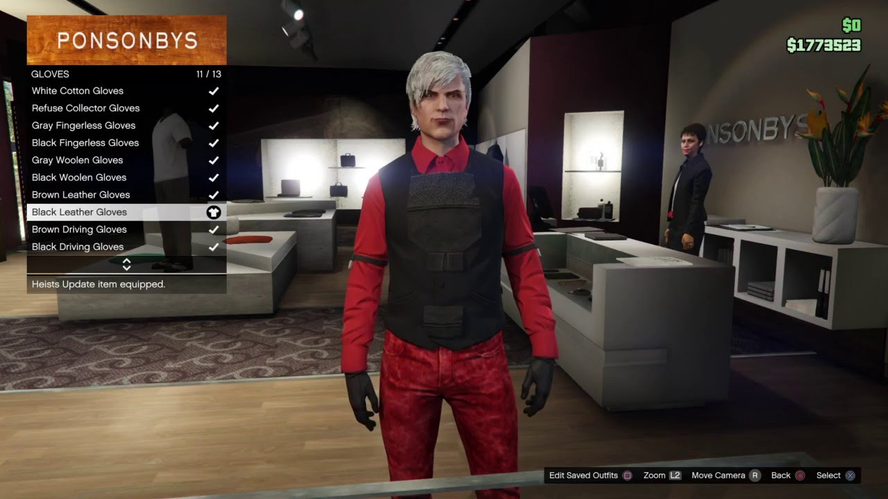 Grand Theft Auto 5 Online Devil May Cry 2 Dante Outfit Tutorial